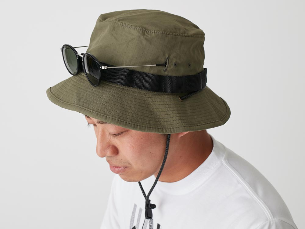 Packable Hat 2 Olive2