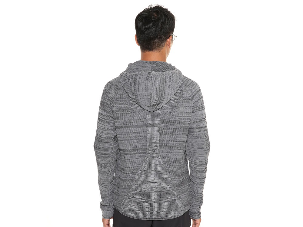 WG Stretch Knit Jacket L Grey.Black4