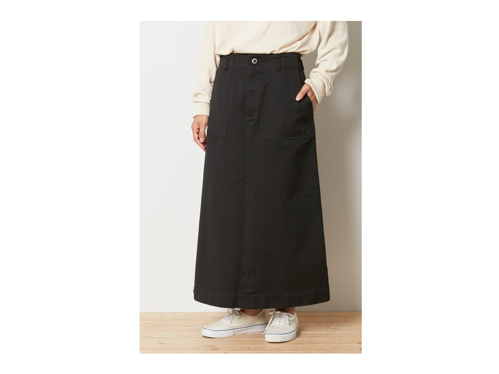 Ultimate Pima Drill Skirt 4 Black