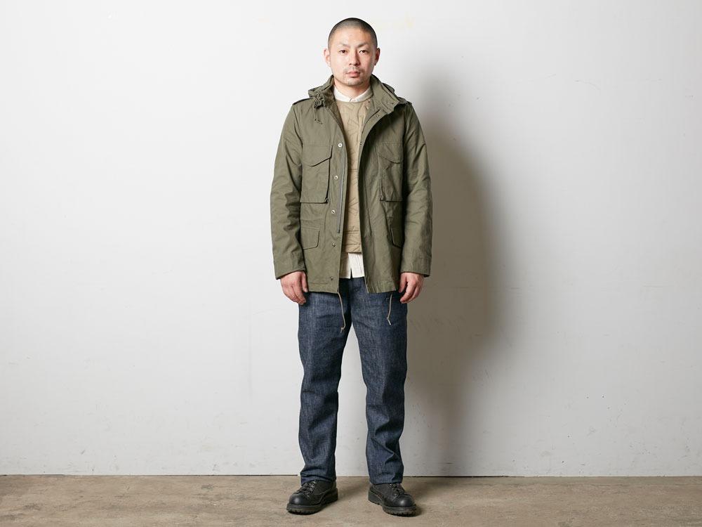 Military Jacket 1 Olive1