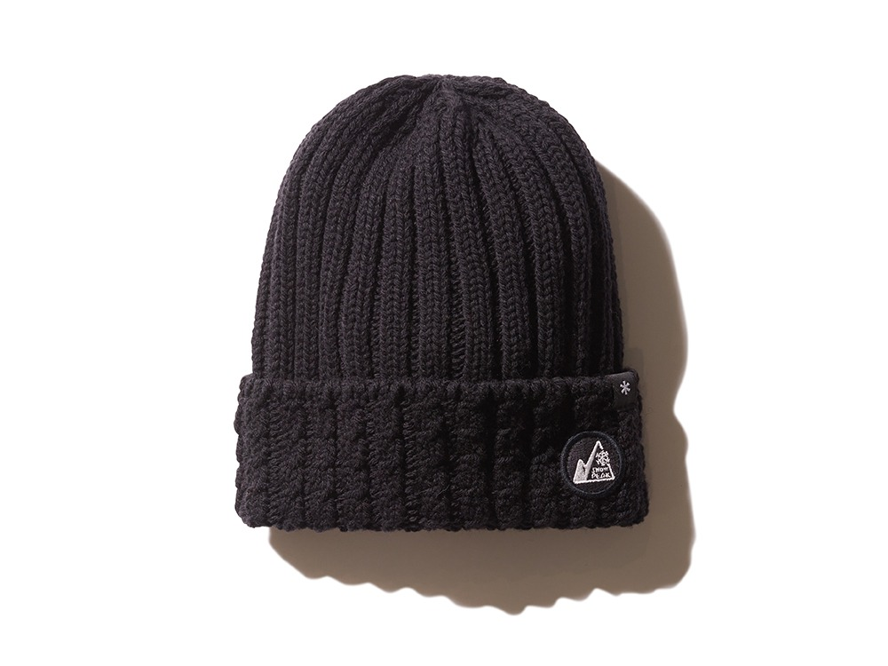 MM Washable Wool Knitted Cap One Black