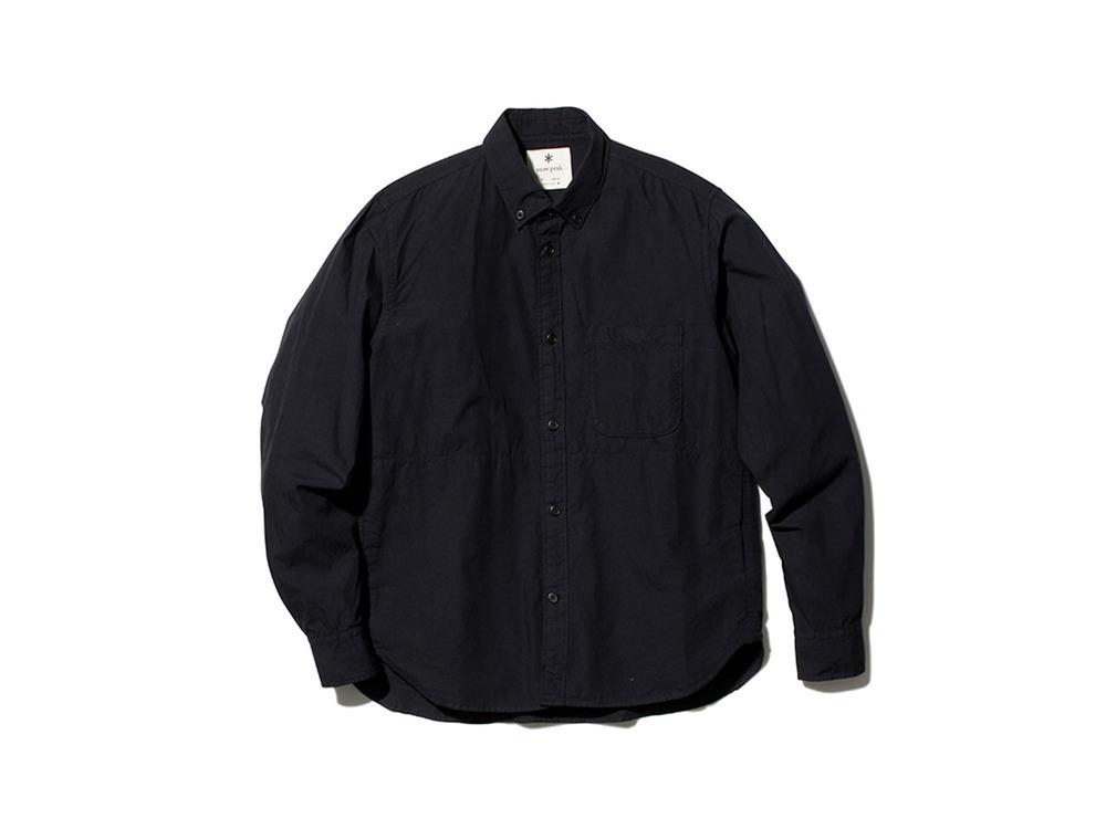アルティメイトピマ ポプリン ボタンダウン シャツ XL BK