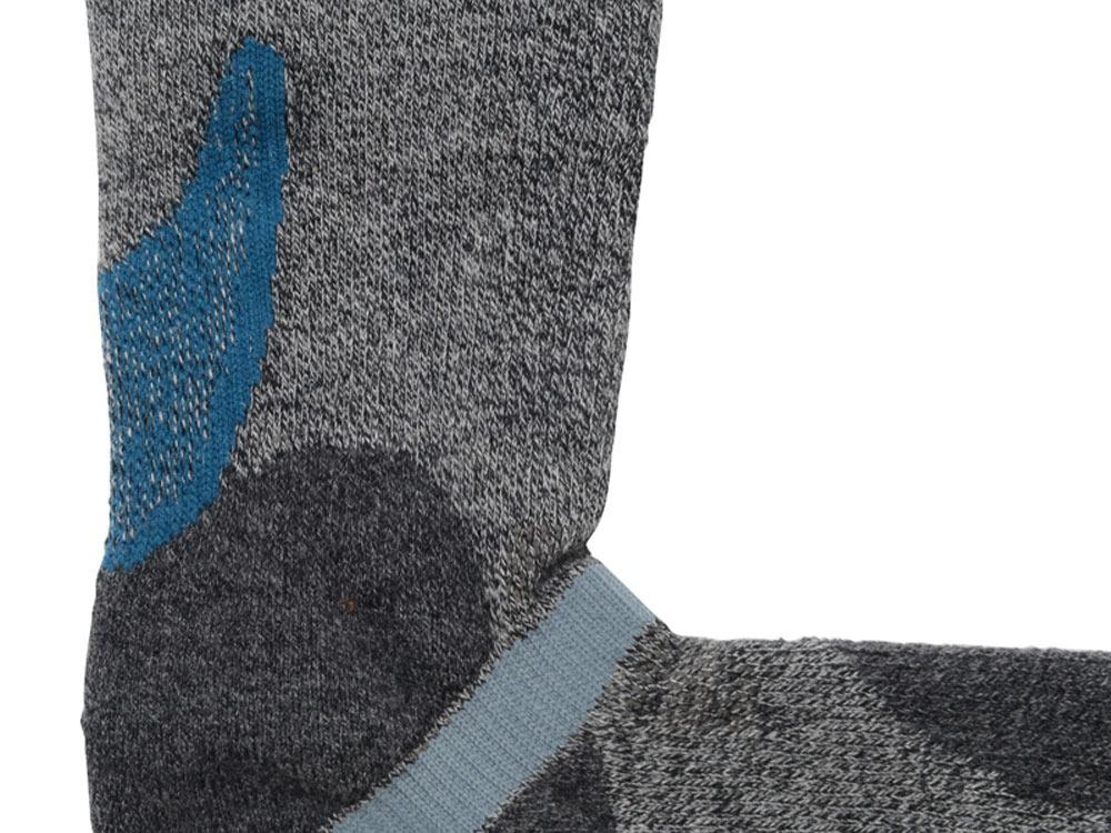 Rasox Plus Hiking Socks  (S) GRY1