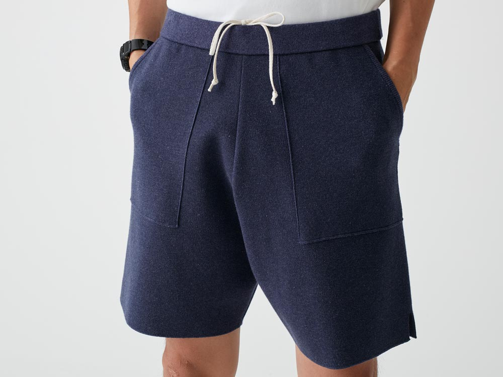 Cotton Dry Shorts M Navy4