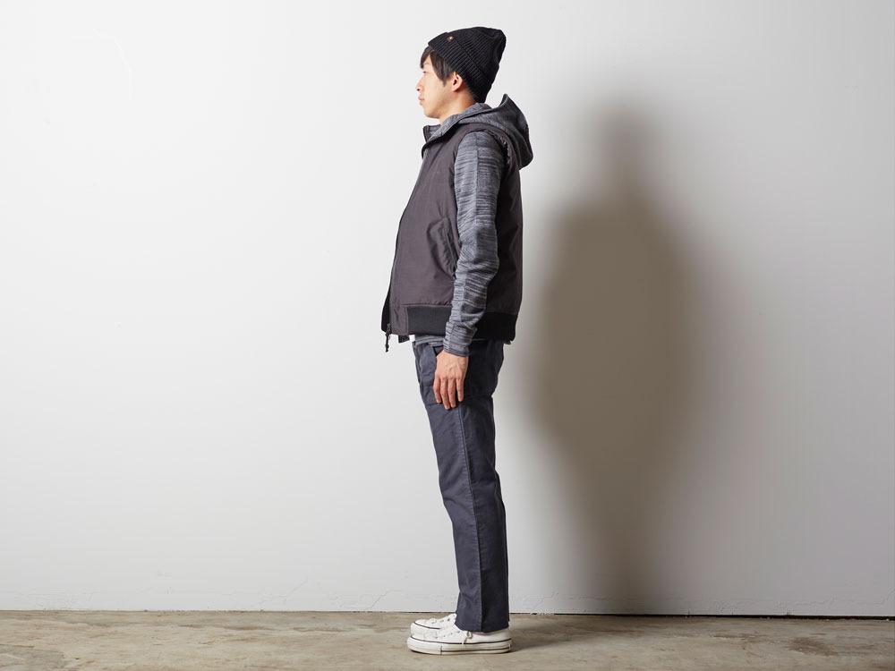 FR Down Vest XL Olive2