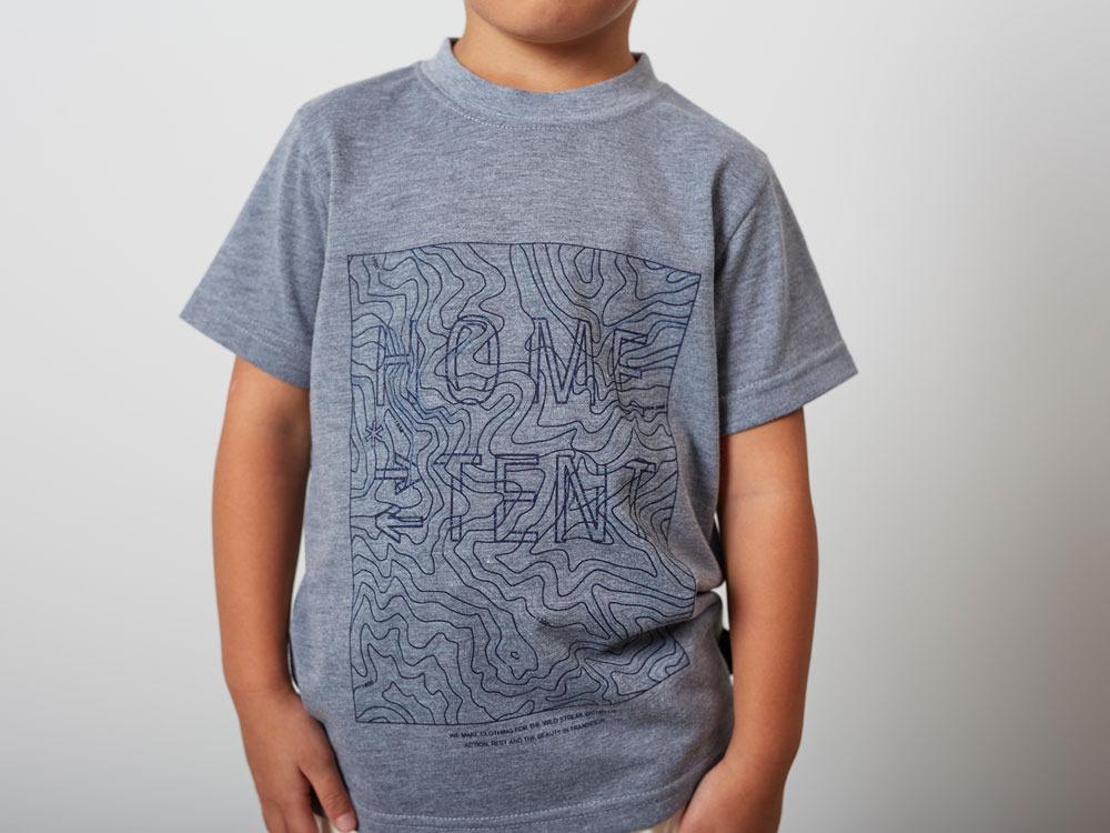 Kid'sQuickDryTshirt/Contour 3 M.grey4