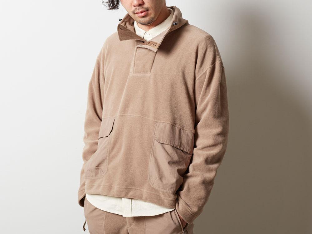 R/Pe Fleece Pullover XL Olive4