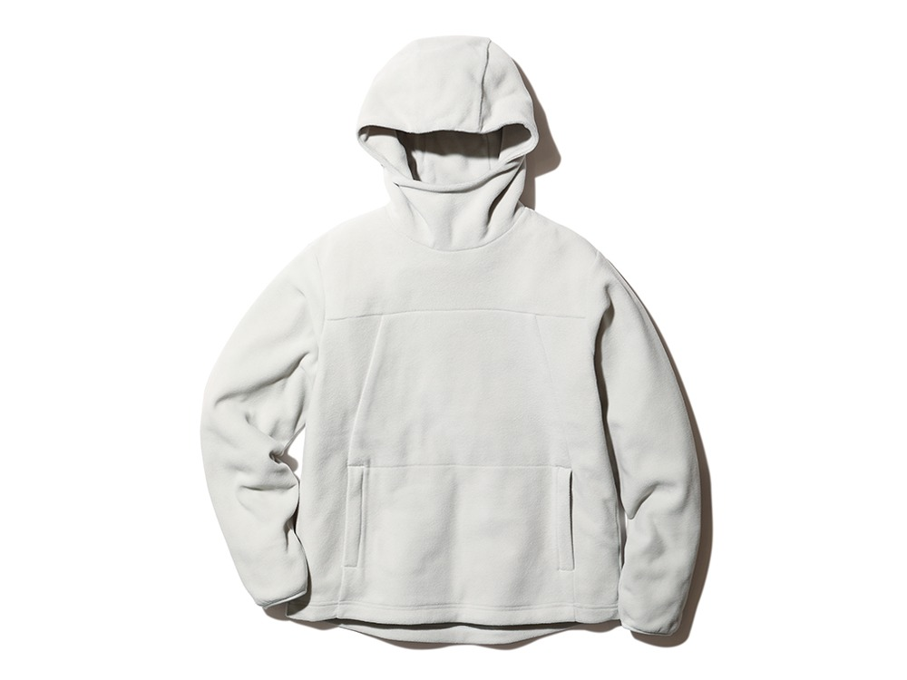 Micro Fleece Hoodie M Icegrey