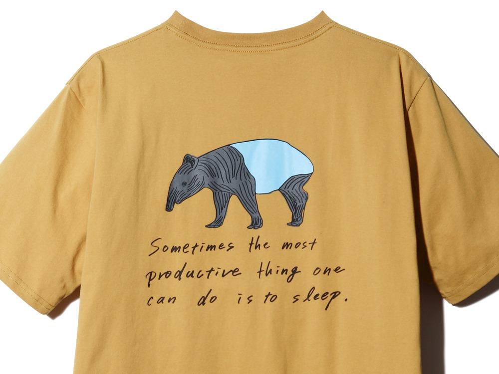 Kids Printed Tshirt Bacoo 1 Mustard