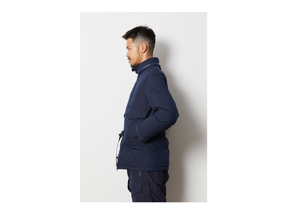 SPxTDS INDIGO C/N DOWN JACKET S Black