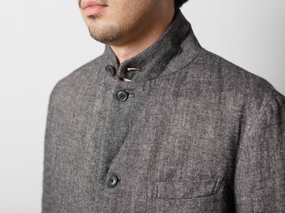 W/L Double Face Jacket L Charcoal6