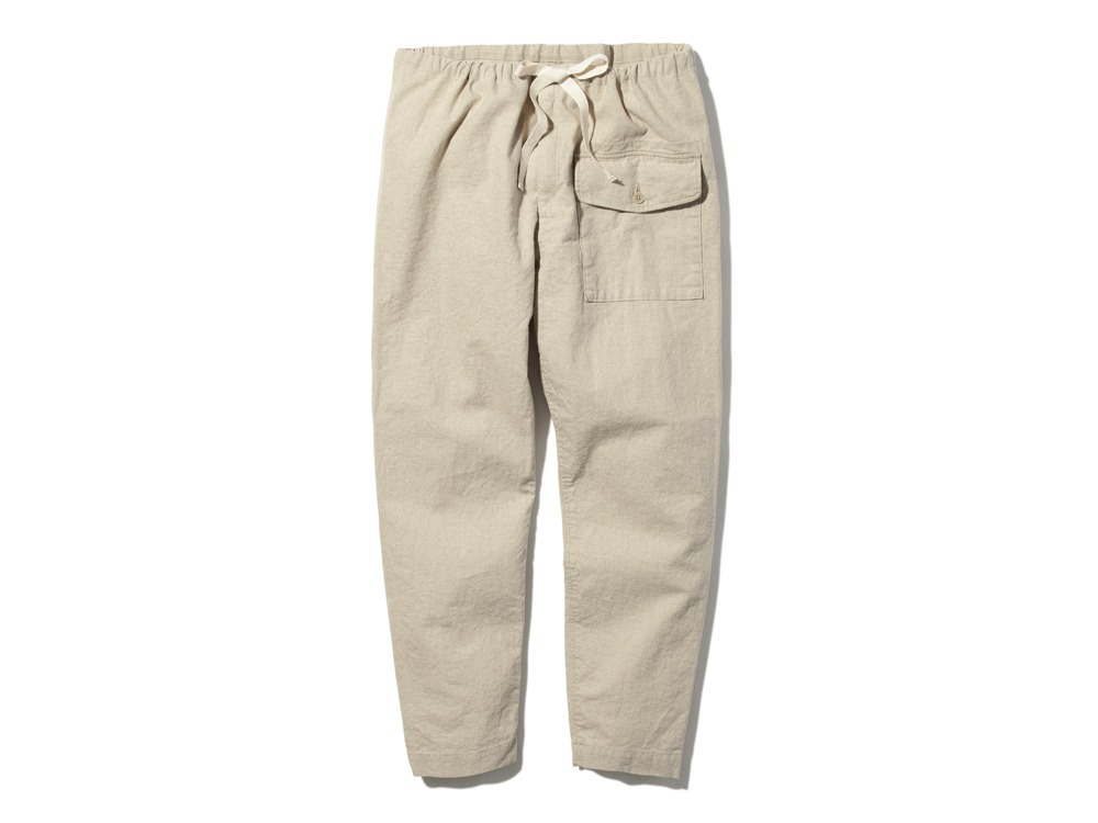 Safari Linen Pants M Beige0