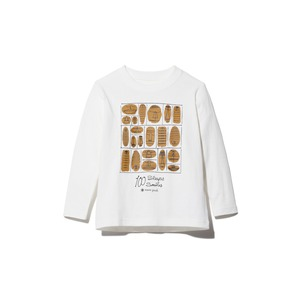 Kids 100 Sleep 100 Smile L/S Tee 2 WH