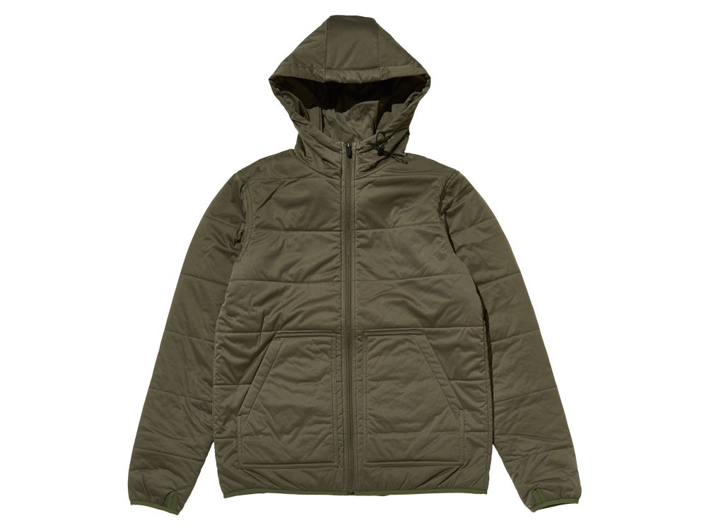 Flexible Insulated Hoodie M Olive0