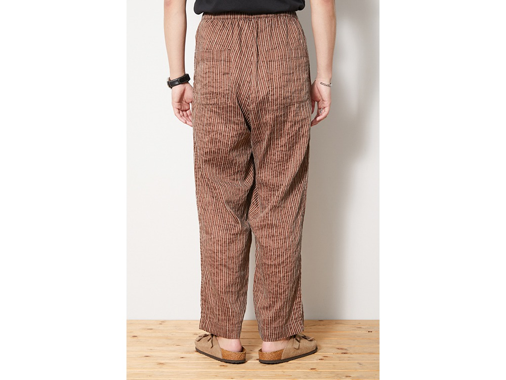 C/R Light Stripe Pants L Orange