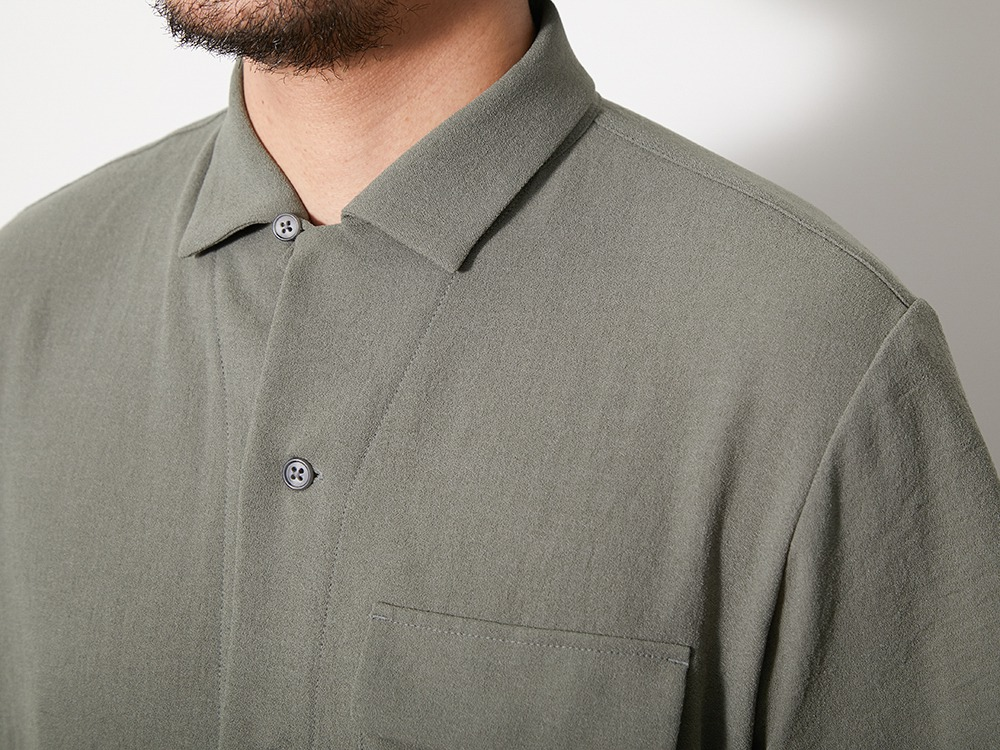 QuickDry Crepe Weave Soft Shirt XL SG