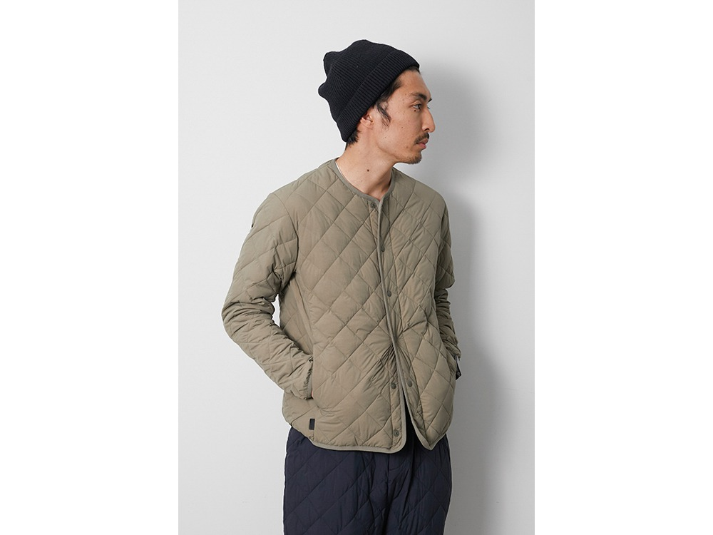 Recycled Ny Ripstop Down Cardigan M BK
