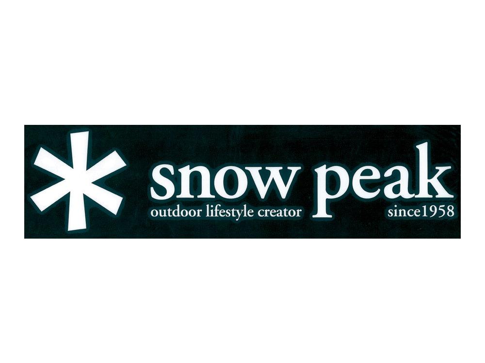 Snow Peak Logo Sticker Asterisk0
