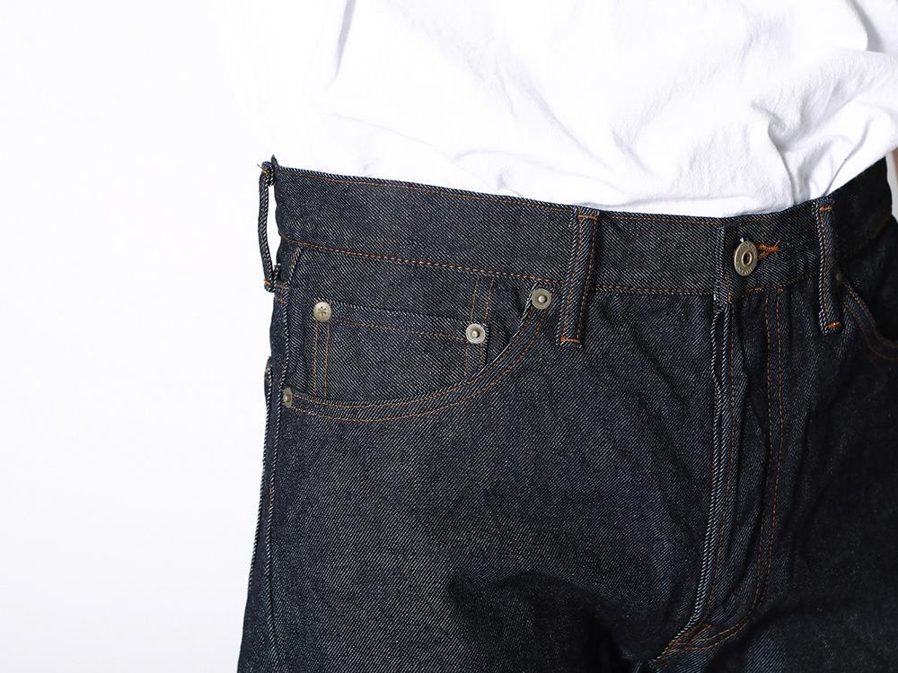 Recycled Cotton 5pkt Denim Slim M IN