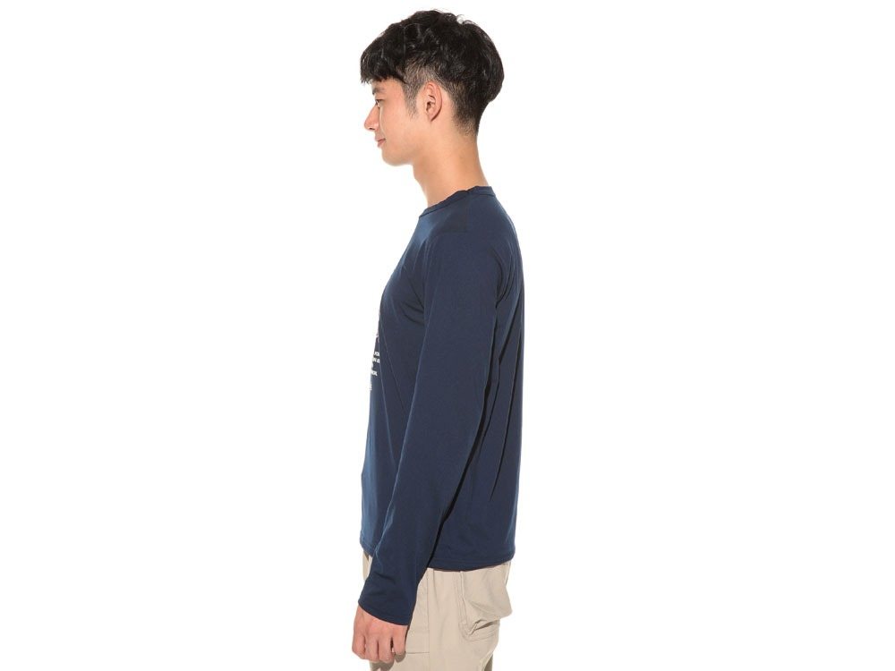TAKIBI Long Sleeve T shirt 1 Navy3