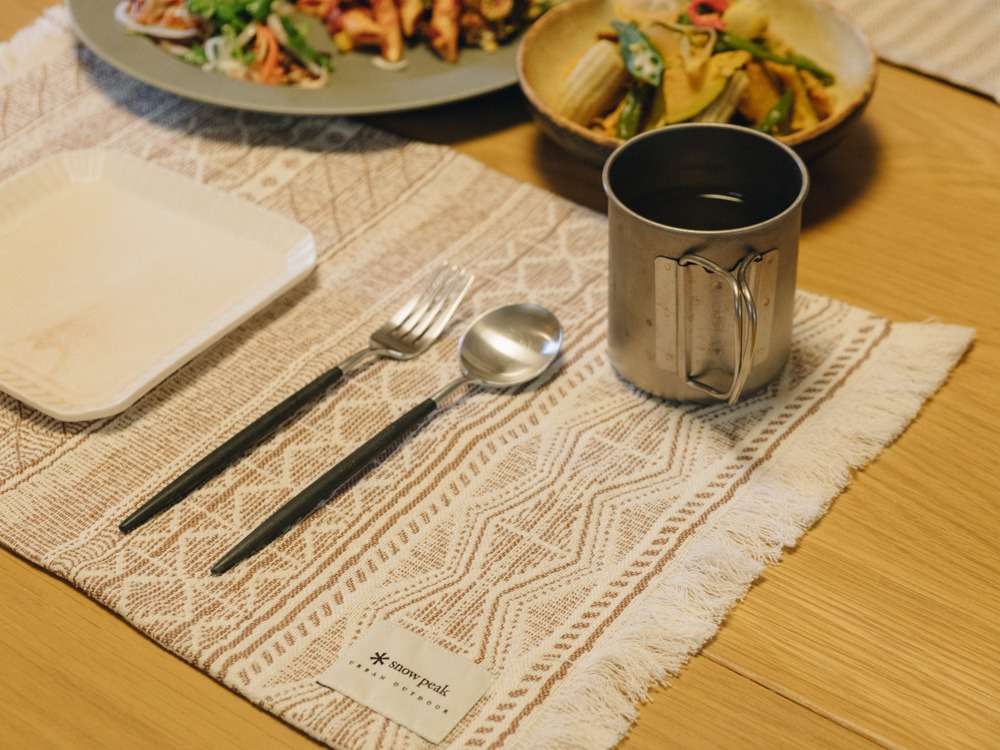 Cotton Silk Jacquard Table Mat One EC