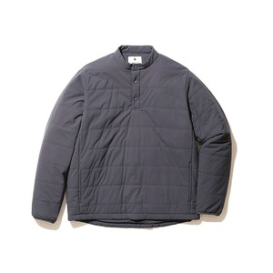 Flexible Insulated Henley Pullover