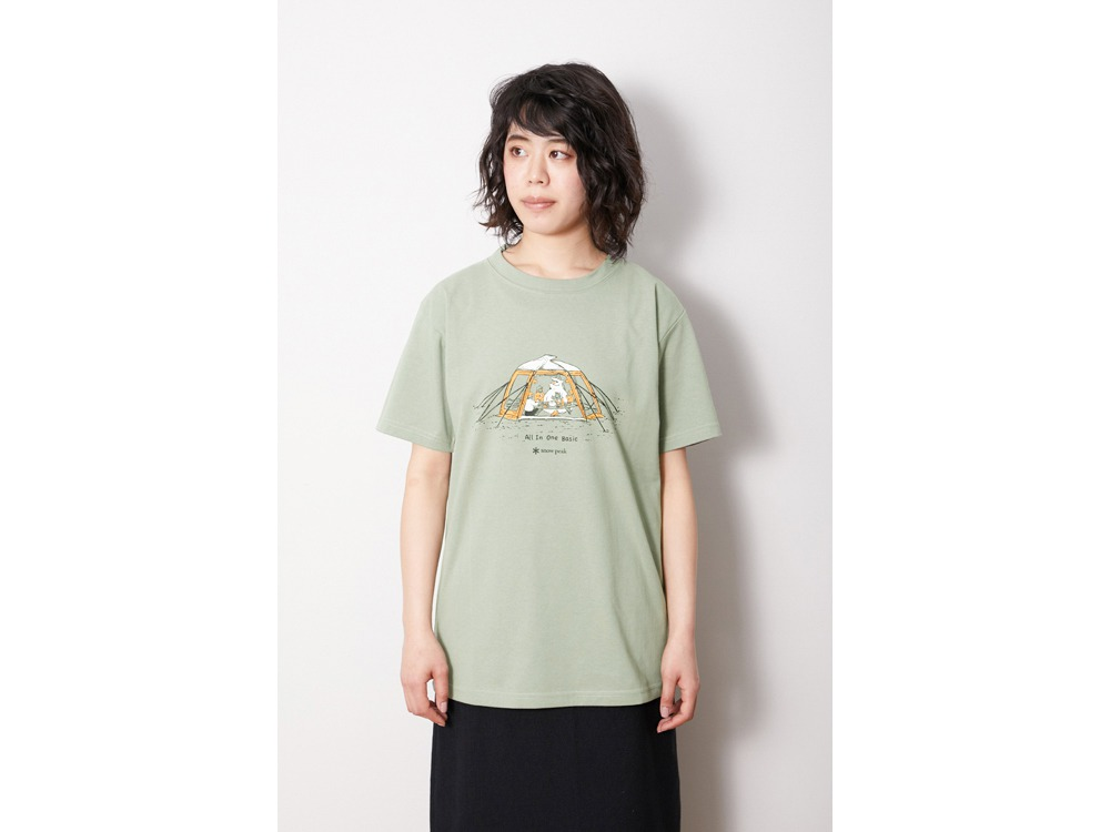 Lounge Shell Tee XL White
