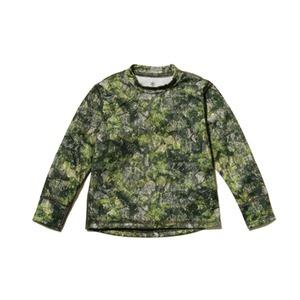 キッズ プリント インセクトシールド ロングスリーブTシャツ 4 グリーン