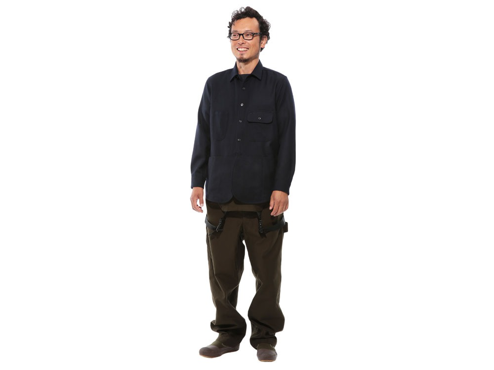 Field Wool Shirt L Grey1