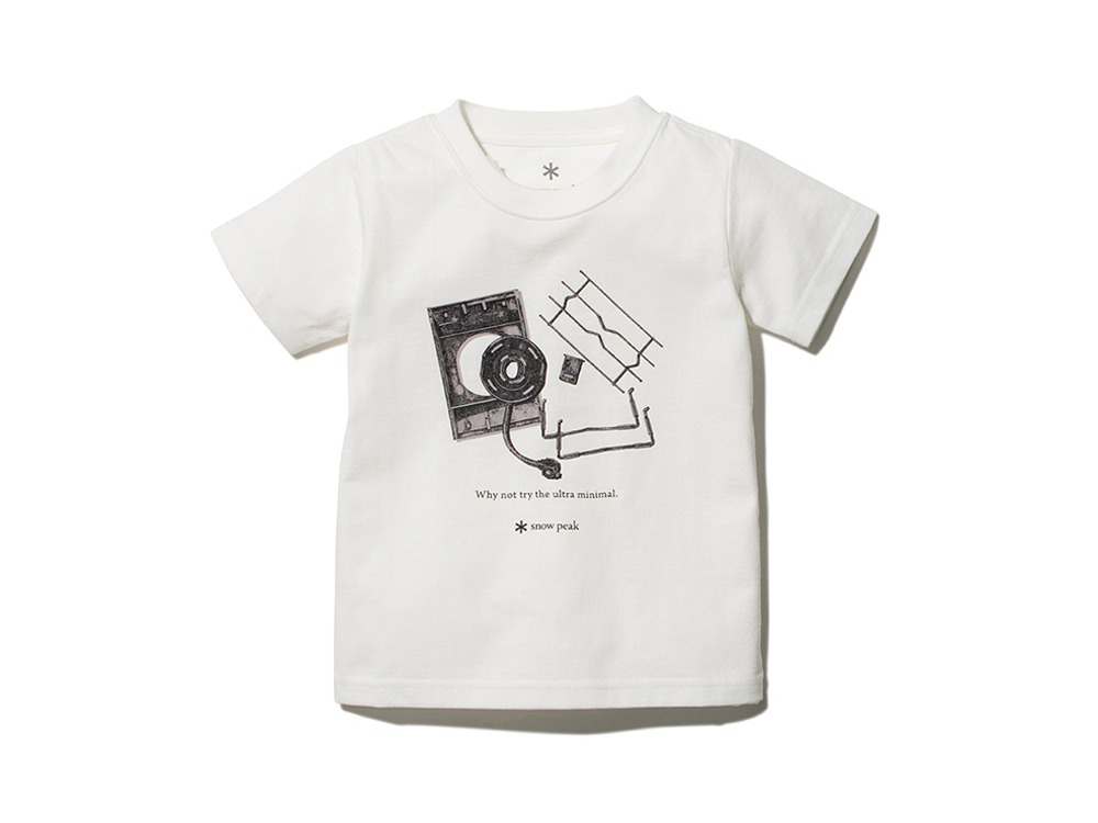 Kids Flat Burner Tee 1 White