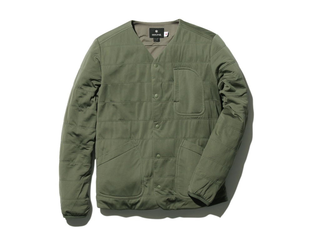 FlexibleInsulatedCardigan 1 Olive0