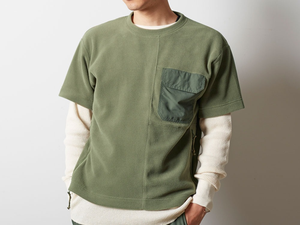 R/Pe Fleece Tshirt 2 Olive4