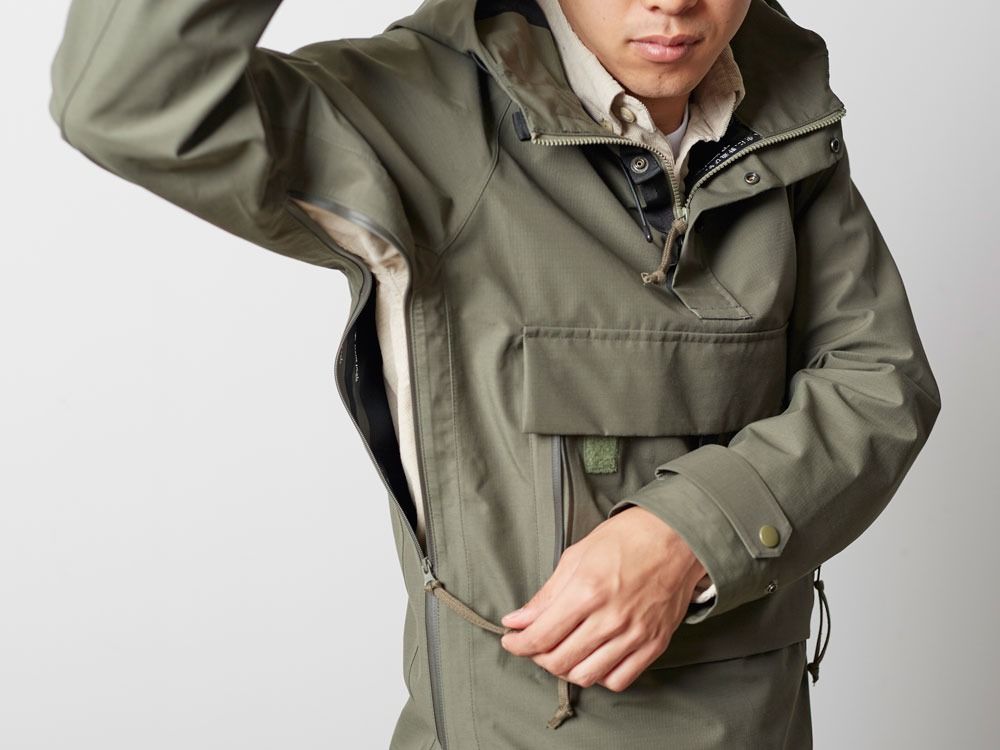 FR Rain Pullover M Olive10