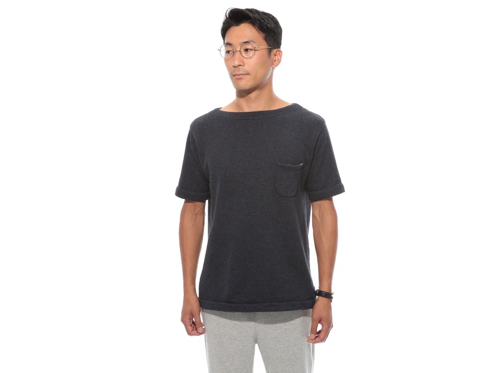 Cashmere Relaxin' Sweat Tshirt 2 Grey2