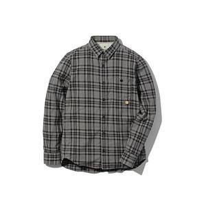 チェックフランネルシャツ