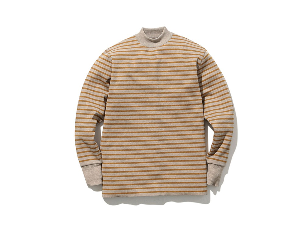 Wool Linen/Pe Turtlneck Long Sleeve M OMMD