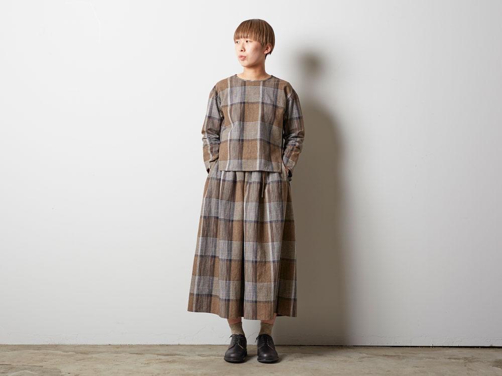 KASURI Skirt 1 Brown7