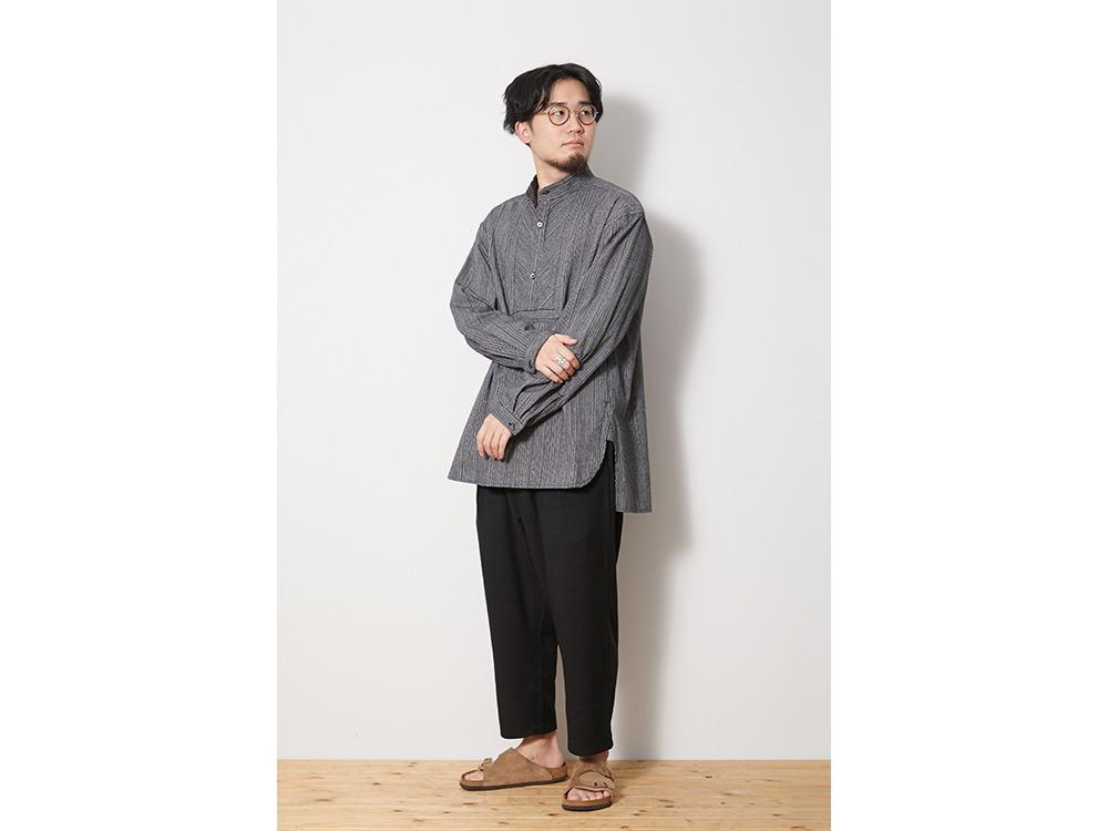 SHIJIRA Long Shirt M Brown