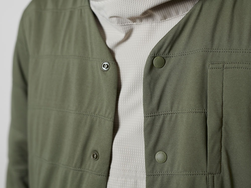 FlexibleInsulatedCardigan 2 Olive4