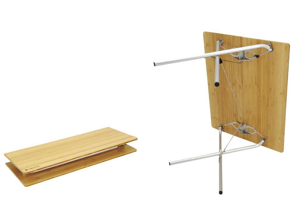 ワンアクションテーブル竹