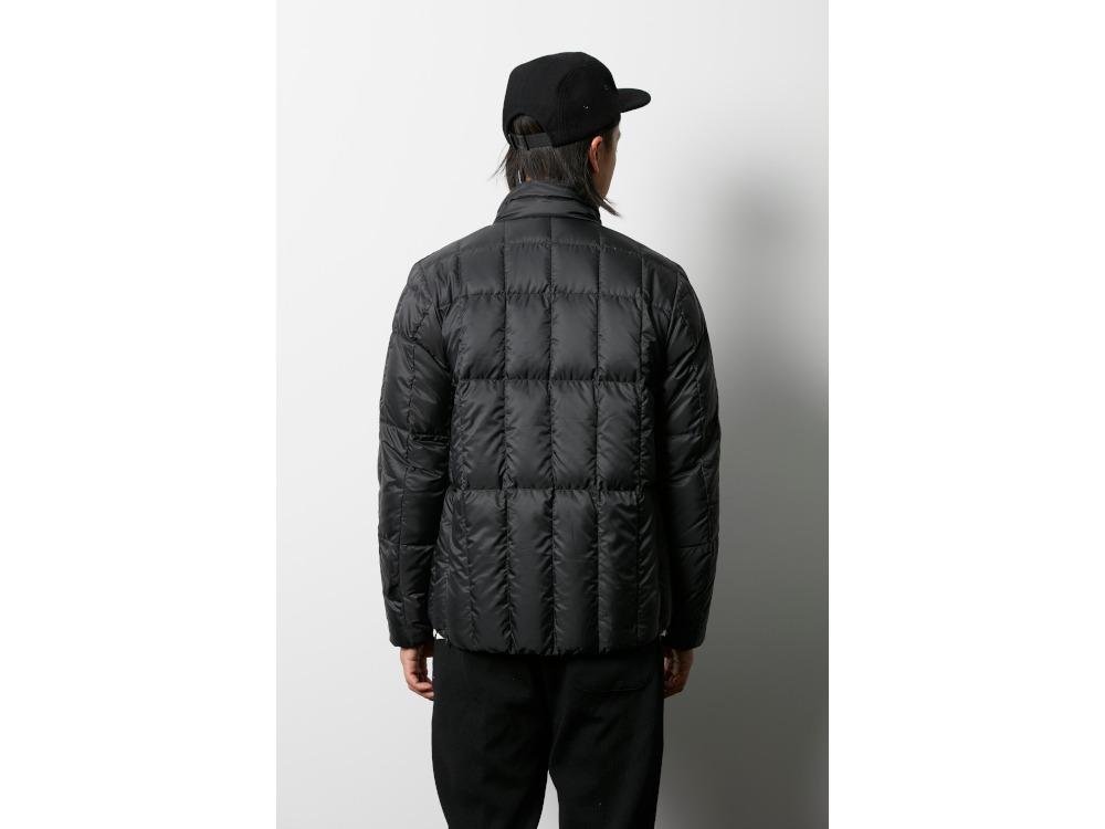 ミドルダウンジャケット XXL ブラック