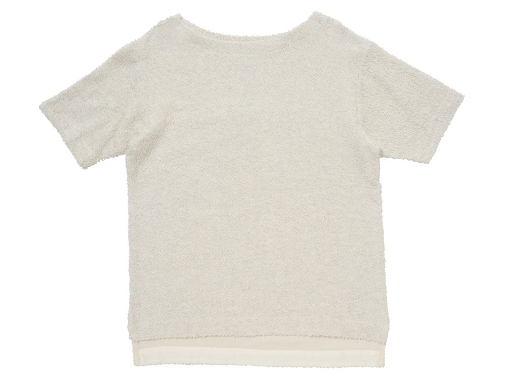 Long Loop Sweat T-Shirt S White0