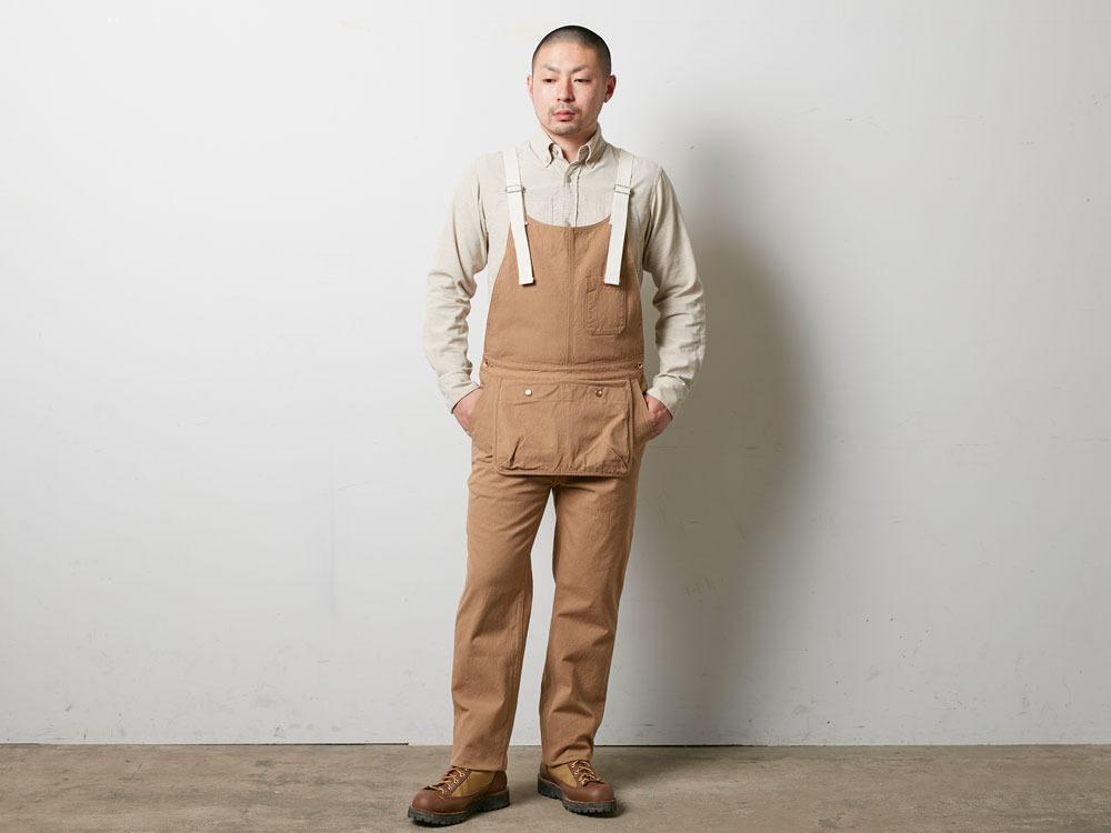 True Organic Overalls XL Natural1