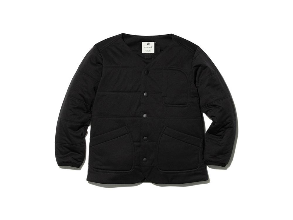 Kids Flexible Insulated Cardigan 1 Black