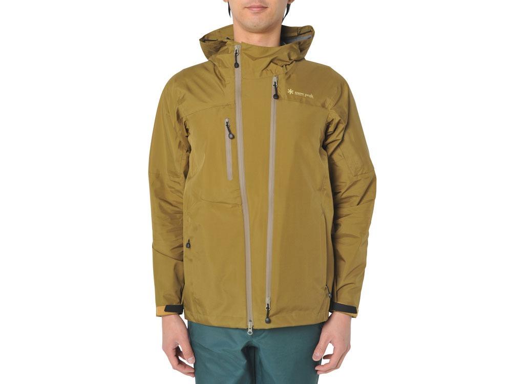 3L Rain Jacket S Mustard0