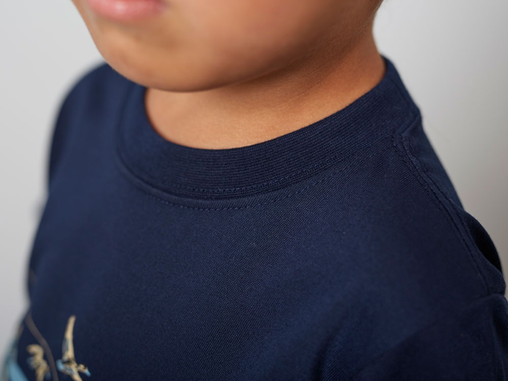 Kid'sQuickDryTshirt/Field3 Navy6