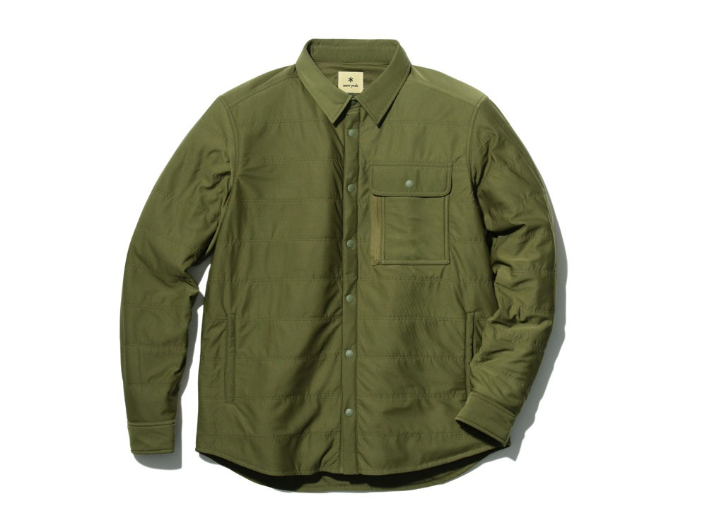 フレキシブルインサレーションシャツ M オリーブ
