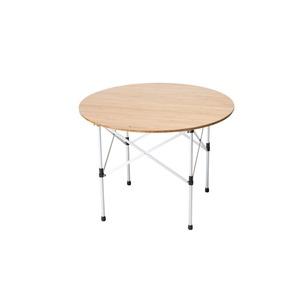 ローテーブルラウンド竹