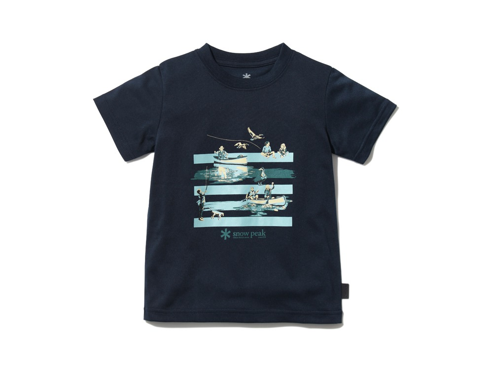 Kid'sQuickDryTshirt/Field3 Navy0