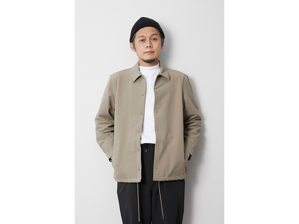 Nylon Power Wool Jacket M Black